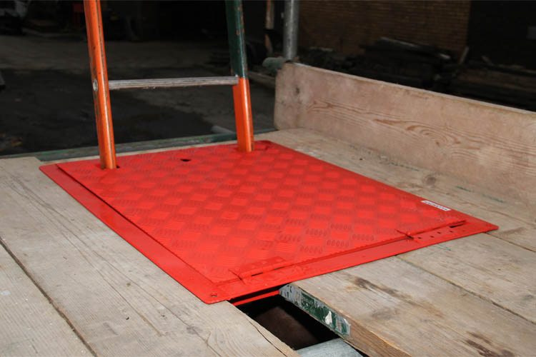 Ladder Access Trap Door